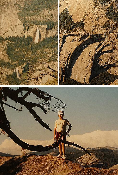 Jeszcze kilka widoczków z Yosemite. Przyrodę w tym parku narodowym można by po amerykańsku nazować absolutnie spektakularną. Nigdy nie zrozmiem do końca tych, którzy jadą do Stanów tylko do Maiami, czy NYC.