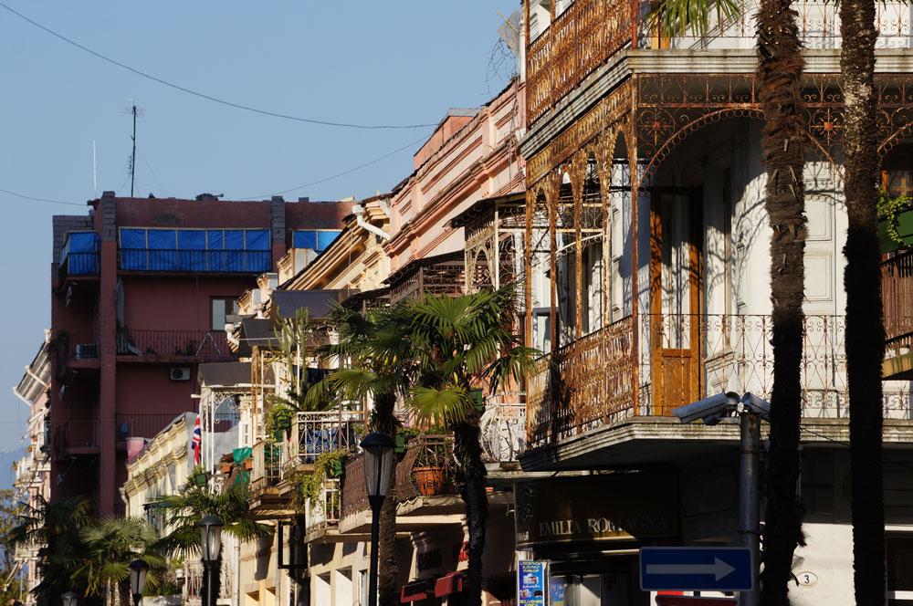 Klimatyczne balkony na starówce