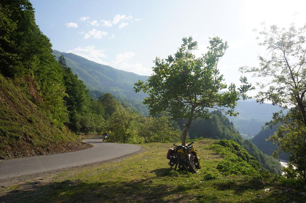 W drodze z Batumi do Khule