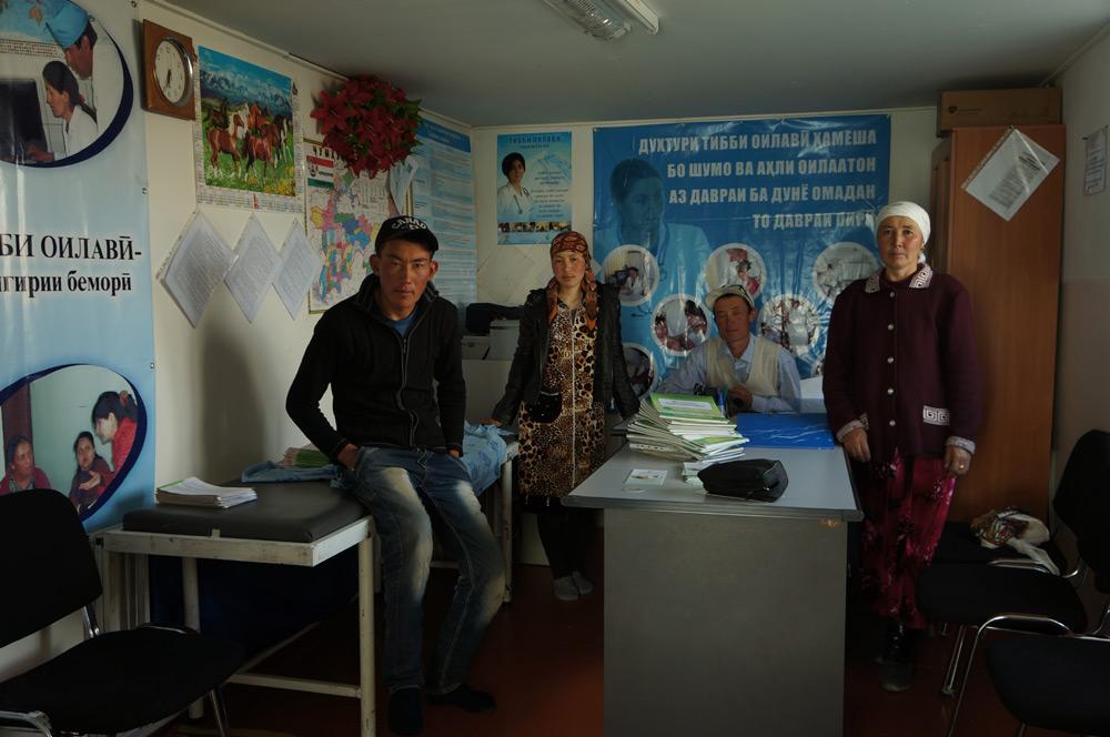 Szpital w Alichur był w zaskakująco dobrym stanie.