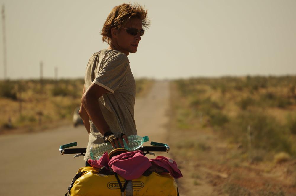 Rowerem przez pustynię Kyzyl Kum