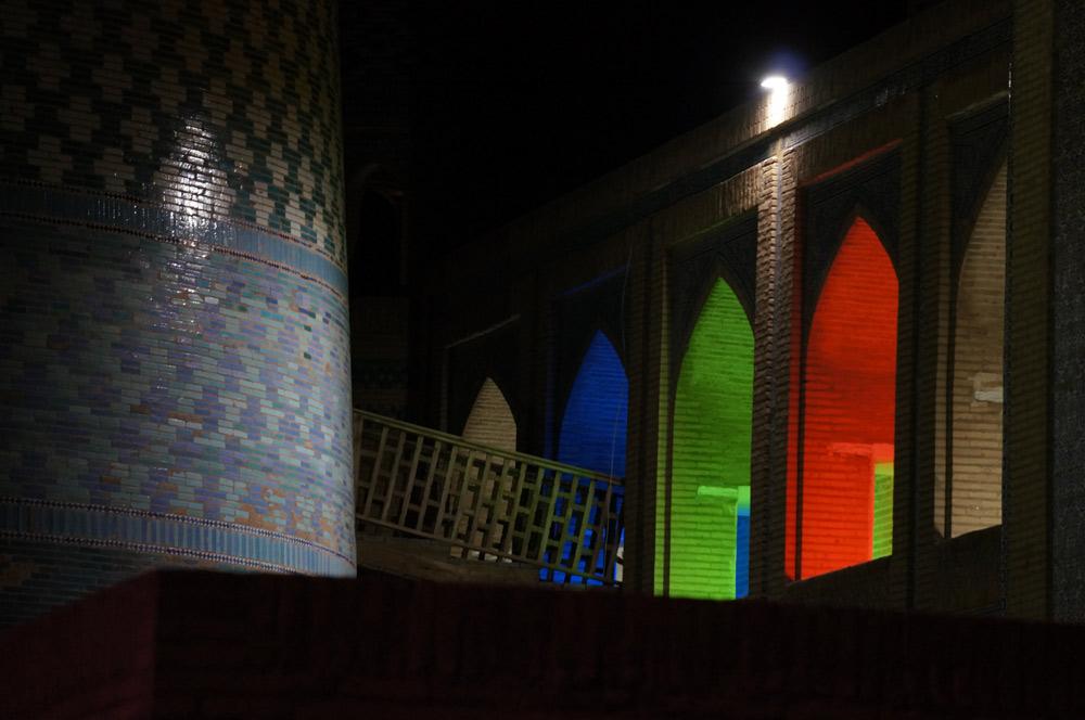 Khiva nocą...