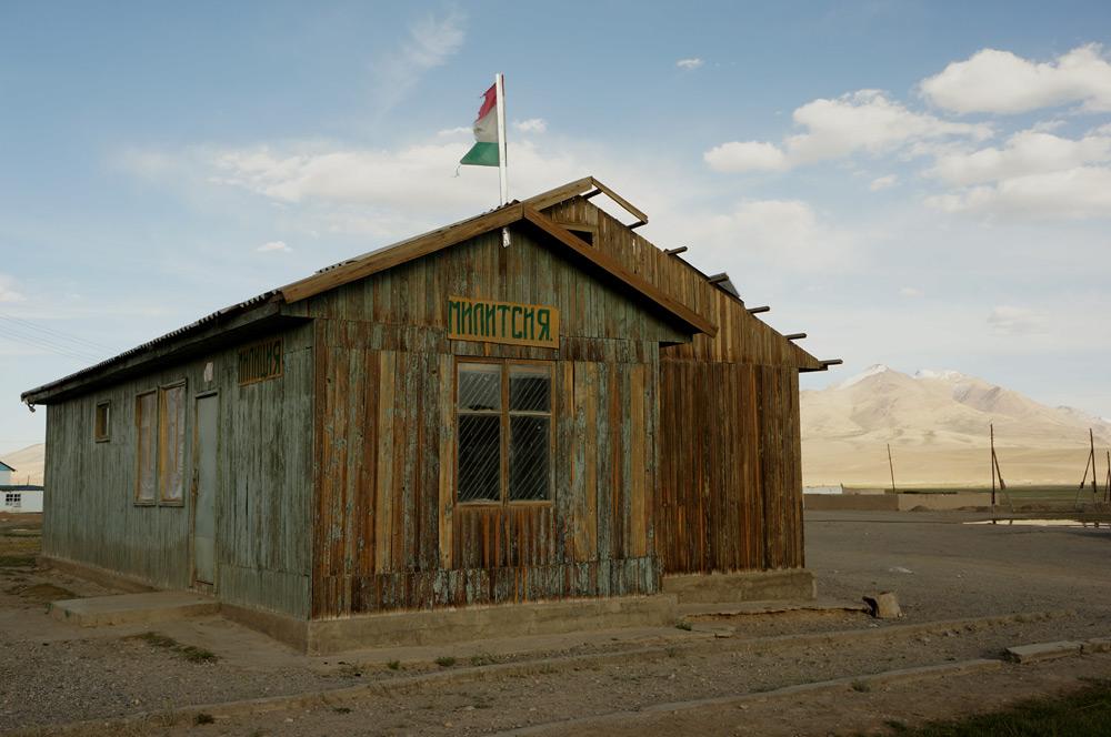 A to proszę państwa - posterunek milicji w Alichur, gdzie zatrzymaliśmy się na noc u jednej rodziny.