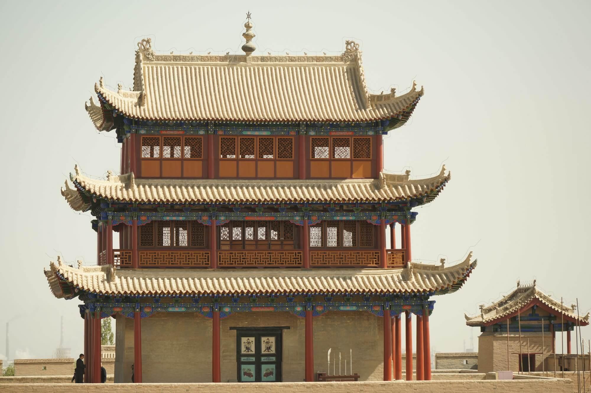 Twierdza strzegąca niegdyś najdalej na zachód wysuniętych części państwa chińskiego