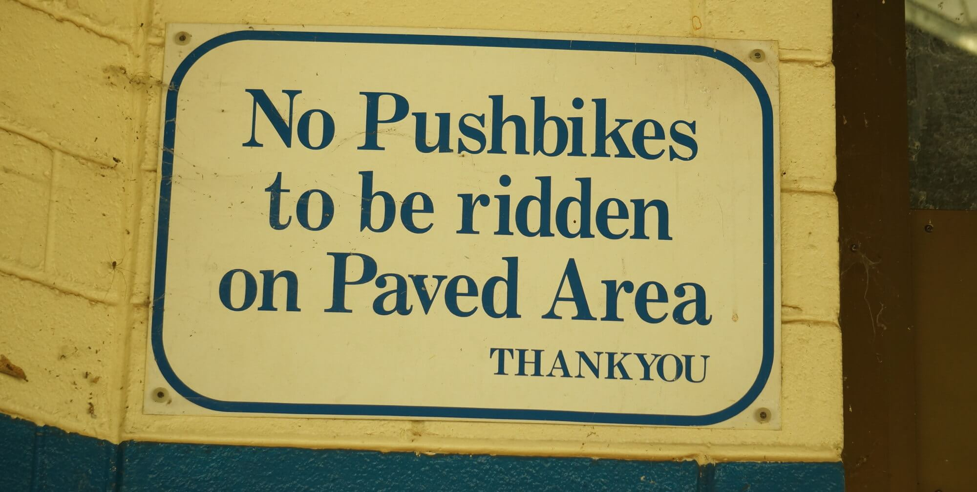 no_pushbikes