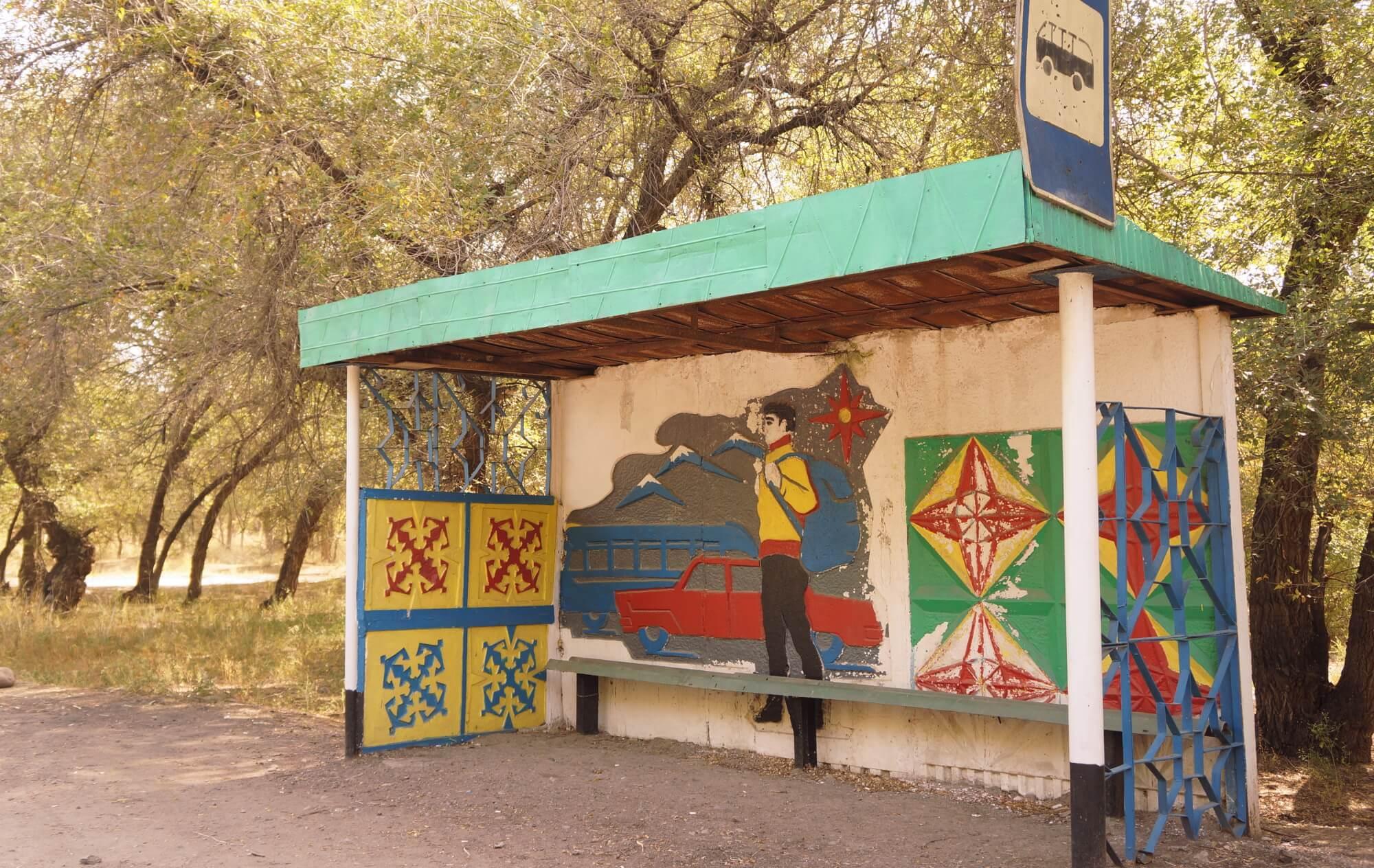 Kazachstan, niedaleko granicy z Chinami