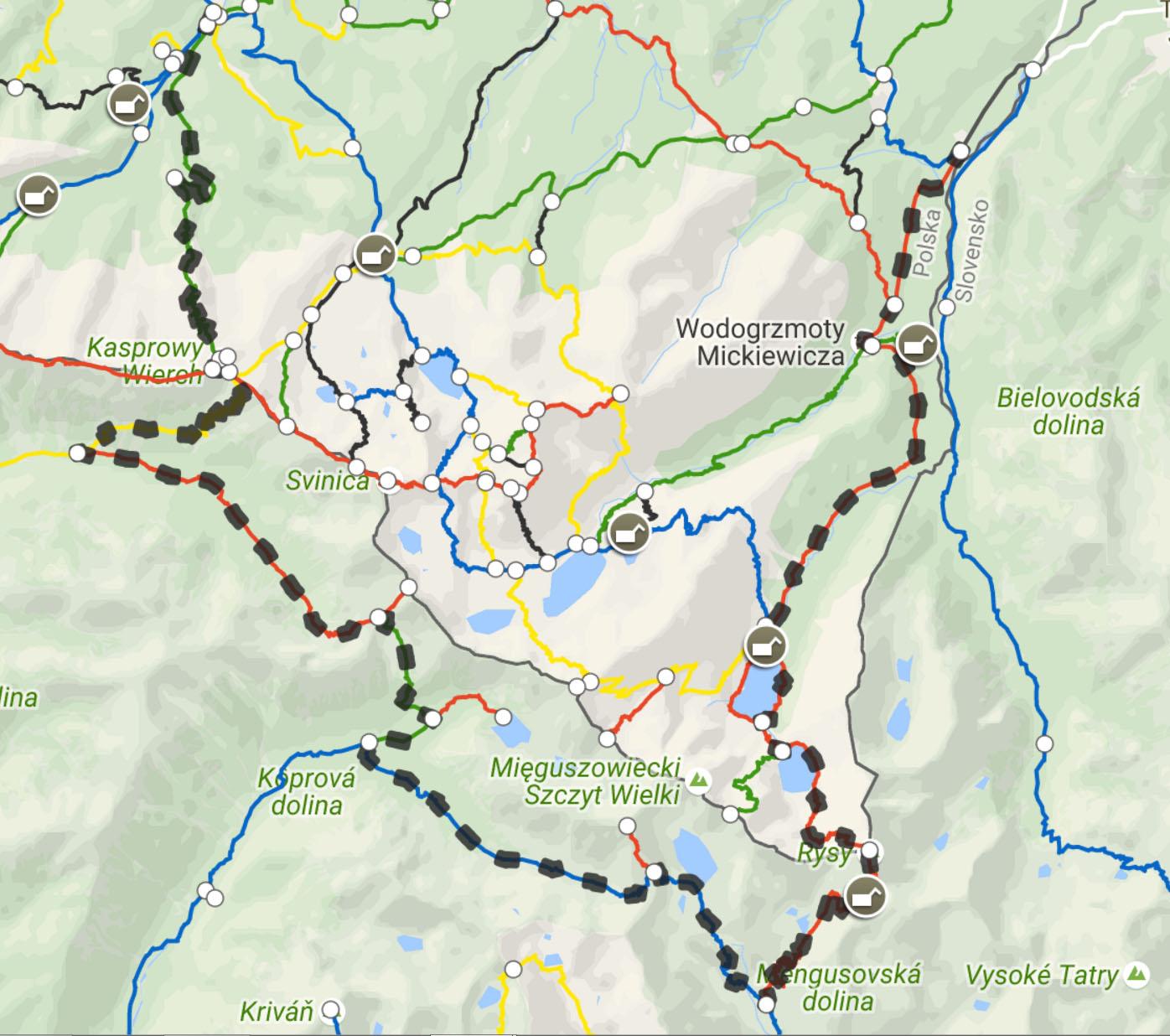 tatry-mapa